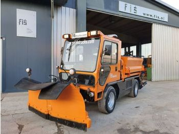 Ladog G129 N20 snow plate + salt machine + tipper - Kipper