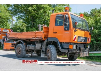 MAN 10.220 LAEK 4x4 Kipper Single Bereifung Kommunalhydraulik - Kipper