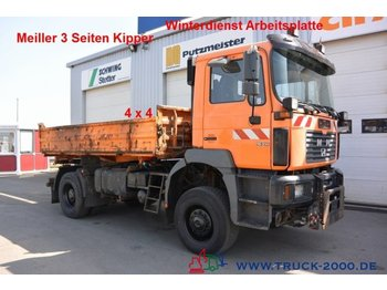 Kipper MAN 19.314 4x4 Meiller 3-S Winterdienst DeutscherLKW