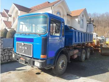 MAN 26.281 6x4 meiller tipper - perfect - Kipper