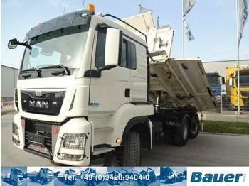 Kipper MAN 28.480 6x4-4 Lenkachse/Bordmatik/Retarder/144Tkm