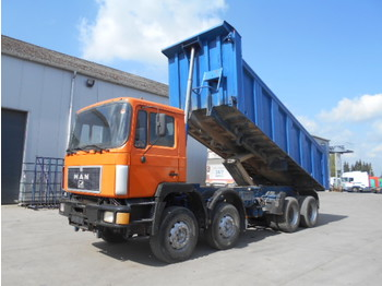 Kipper MAN 35.372 (BIG AXLE/ STEEL/ MANAUL PUMP)