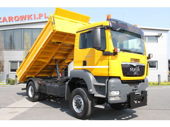 Kipper MAN 3 SIDED TIPPER TGS 18.400 4x4 MEILLER KIPPER