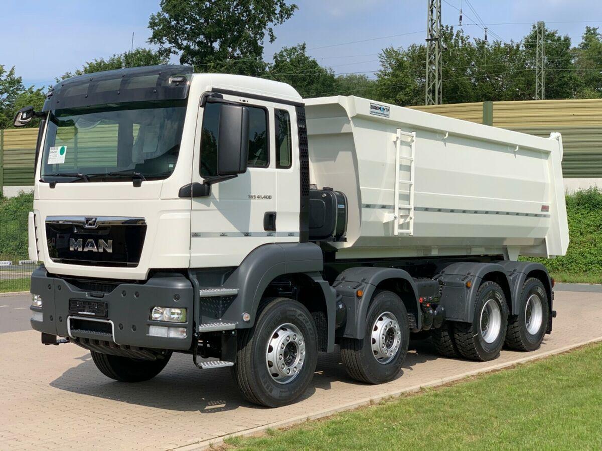 Kipper MAN 41.400 8x4 / MuldenKipper EUROMIX  20m³/ EURO 5
