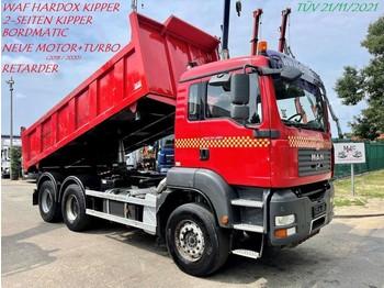 Kipper MAN TGA 33.480 6x4 - 2-WAY TIPPER - BORDMATIC - RETARDER - *RENEWED ENGINE!!! Invoices available!!! - BIG AXLES - STEEL SPRING