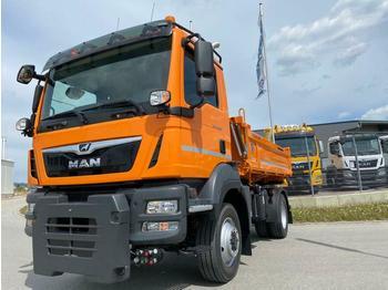 Kipper MAN TGM13.290 4x4BL Kipper/Winterdienst/Kommunal/Neu