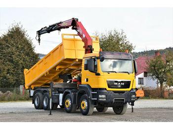 Kipper MAN TGS 41.440 Kipper 6,20m + HMF 2223 K2/FUNK* 8x4