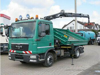 Kipper MAN TG-L 8.180 BB +Hiab XS 055 Kran