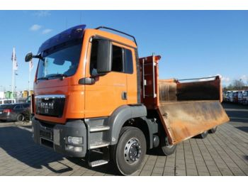 MAN TG-S 35.400 8x4 BB 4-Achs Kipper Bordmatik  - Kipper