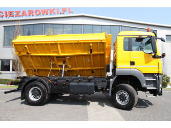 MAN TRUCK FOR WINTER MAINTENANCE TGS 18.400 MEILLER-KIPPER 4×4 - Kipper