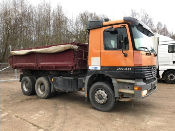 MERCEDES-BENZ Actros 2640 6x4 Full steel - Kipper