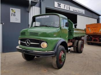 Mercedes Benz 1417 (1413) 4x4 long nose - tipper - TOP - Kipper