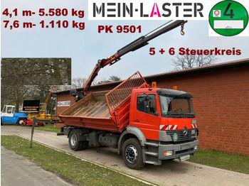 Kipper Mercedes-Benz 1828 PK 9501 7,6 m- 1.1T  5+6 Steuerkreis