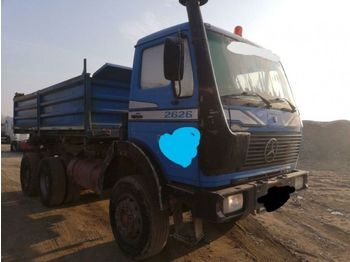 Mercedes Benz 2626 AK 6X6 meiller tipper - TOP - Kipper