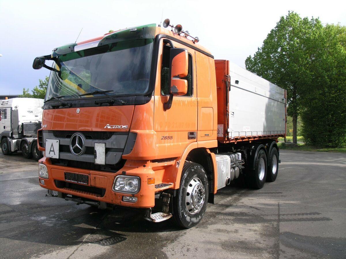 Kipper Mercedes-Benz Actros 2655 TÜV NEU !!6X4 BL KEMPF Getreide Kip