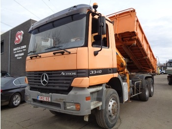Mercedes-Benz Actros 3340 manual/effer 12600 new gearbox TOP - Kipper