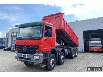 Mercedes-Benz Actros 4141 Day Cab, Euro 3, Full steel // EPS 3 pedals // Meiller 3 side tipper// 8x8 - Kipper