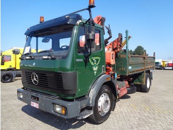 Kipper Mercedes-Benz SK 1922 + Manual + PTO + Kipper + Crane: das Bild 1