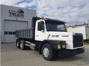 SCANIA 142.420 V8 Motor Full Steel - Kipper