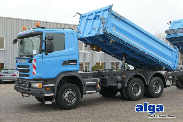 Kipper Scania G400/Allrad 6x6/Meiller/Klima