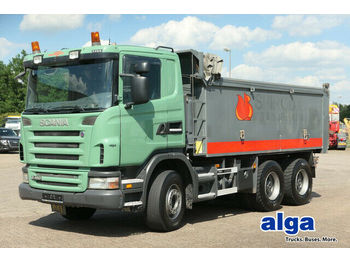 Kipper Scania G480CB6x4, Mulde 17m³, Plane, 16-Schalter,Euro 4