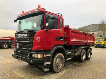 Kipper Scania G480 6x4 Euro 5 Kipper Meiller Bordmatic