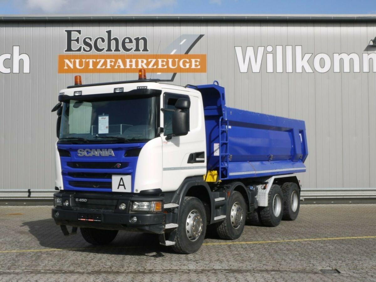 Kipper Scania G 450, 8x4, AP Achsen, Retarder