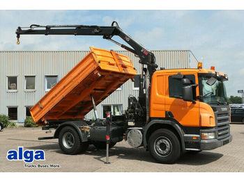 Kipper Scania R280CB4x2, Hiab 099, Funk, Euro 5, Klima, AHK