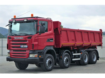 Scania R480 Kipper 6,20m+Bordmatic *8x4*Topzustand!  - Kipper