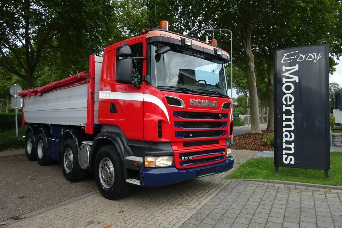 Kipper Scania R500 8x4 Kipper Mit AP Achsen