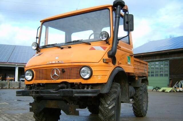 Kipper Unimog 600 - U600 407 61806 Mercedes Benz 407