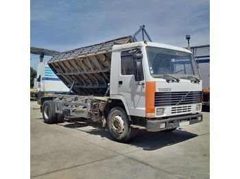 VOLVO FL7 260 left hand drive Intercooler TELMA 19 ton manual - Kipper