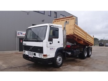 Volvo FL 7 - 280 (ENGINE WITH MANUAL PUMP / FULL STEEL SUSPENSION) - Kipper