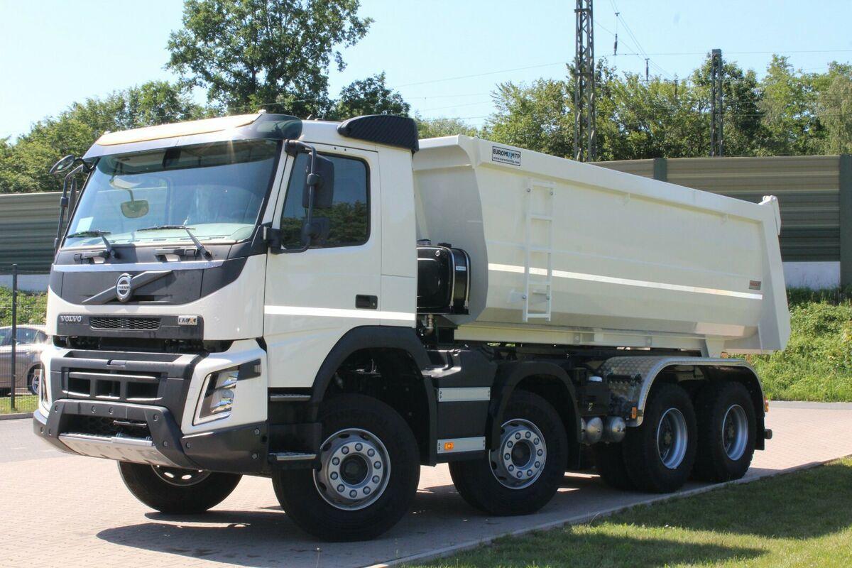 Kipper Volvo FMX 430 8x4 / EuromixMTP TM18 HARDOX
