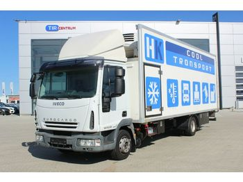 Koffer LKW Iveco EUROCARGO 120EL22 THERMOKING,HYDRAULIC LIFT