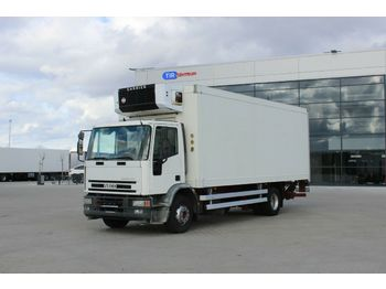 Koffer LKW Iveco EUROCARGO ML 150E23 P, HYDRAULIC LIFT, CARRIER