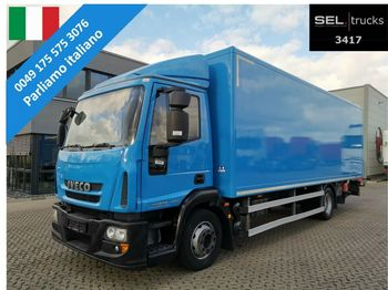 Koffer LKW Iveco Eurocargo 120E28 /Ladebordwand /3 Sitze / German