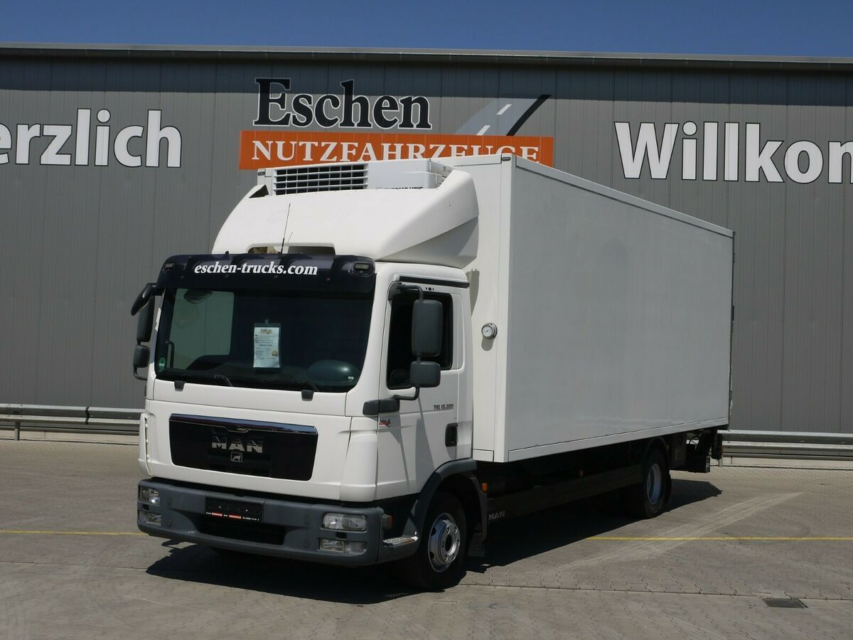 Koffer LKW MAN TGL 12.220 BL, Thermo King V 700, LBW