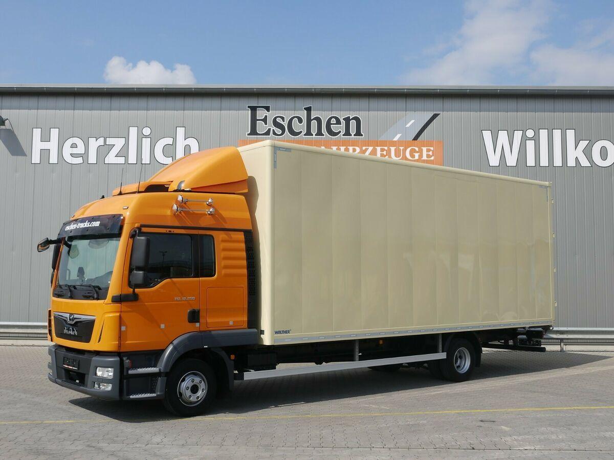 Koffer LKW MAN TGL 12.250*Walther Möbelkoffer*Klima/Standklima