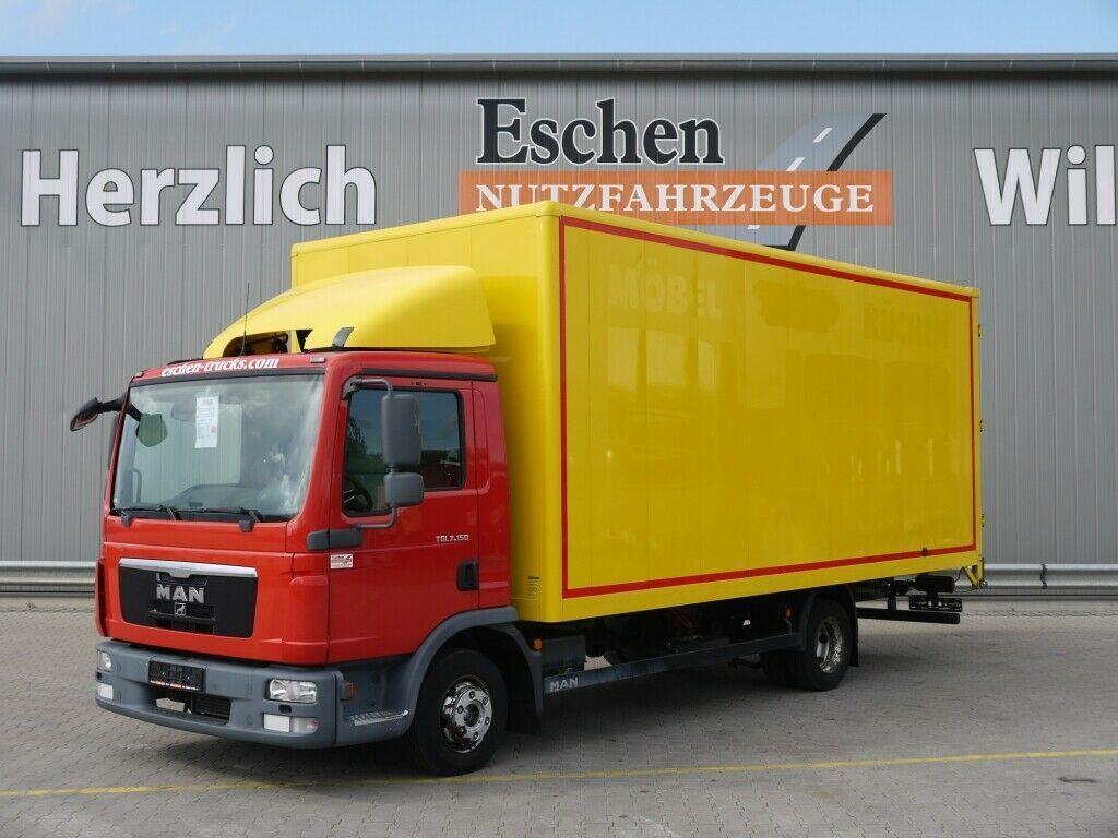 Koffer LKW MAN TGL 7.150 BL Möbelkoffer, Holz, Automatik, EUR5