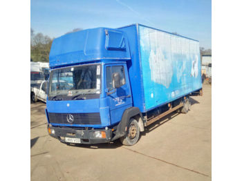 Koffer LKW MERCEDES-BENZ 814 6 cylinder 7.5 ton low miles