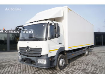 MERCEDES-BENZ Atego 1321 , E6 , 4x2 , 18 EPAL , tail lift , 5 UNITS - Koffer LKW