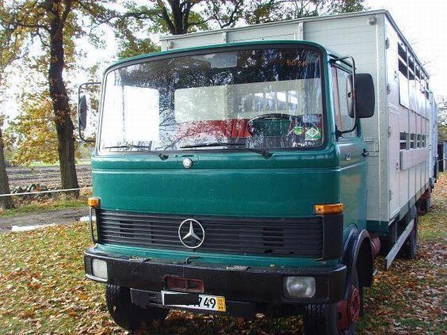 Prächtig Mercedes-Benz 913 Viehtransporter Koffer LKW gebraucht kaufen @TQ_55