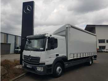 Leasing Mercedes-Benz Atego 1527 LL 4x2 Koffer/Plane+LBW L-Haus Liege  - Koffer LKW