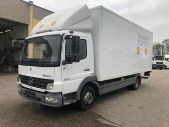 Mercedes-Benz Atego 816, Ladebordwand - Koffer LKW
