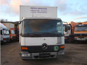 Koffer LKW Mercedes-Benz Atego 818 Ladebordwand koffer