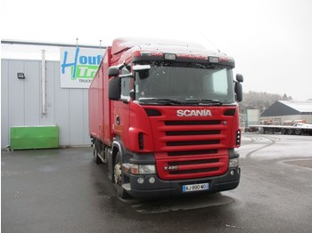 Koffer LKW Scania R 420 - 6X2 - manual gearbox