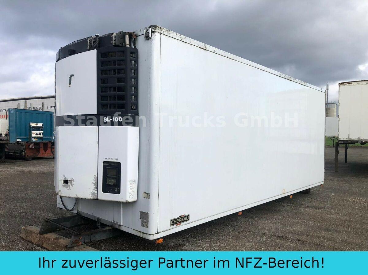 Kühlkoffer LKW Chereau Fleischkoffer Rohrbahnen TK-SL 100  7 m