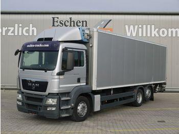 Kühlkoffer LKW MAN TGS 26.320 6x2-2 LL, Frigoblock FK13, Seitentür