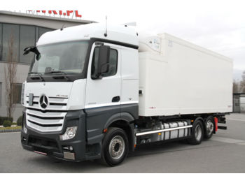 MERCEDES-BENZ ACTROS 6x2 2543 BDF E6 REFRIGERATOR THERMOKING LIKE NEW! 100 000 - Kühlkoffer LKW